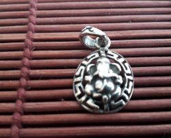 Pingente Ganesha - Mod 3. Prata 925