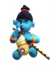 Krishna com Flauta - Boneco de Pelúcia - 2