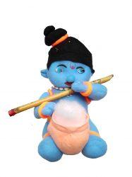 Krishna com Flauta - Boneco de Pelúcia -  Mod 1