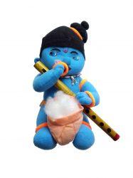 Krishna com Flauta - Boneco de Pelúcia -  1