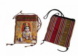 Bolsinha Baby Krishna