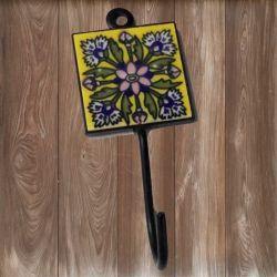 ESGOTADO! Porta Toalhas Floral