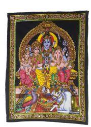 Pano Decorativo Shiva Family