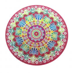 Mandala Adesiva Grande Mod I.  49 cm