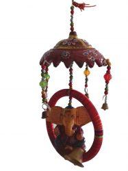 ESGOTADO! Móbile Elefantinhos - Ganesha