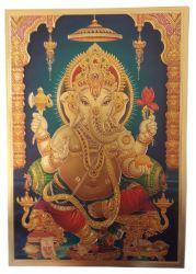 Gravura/litografia  Ganesha  2