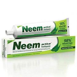 ESGOTADO!   Creme Dental de Neem 200g. Vegetariano