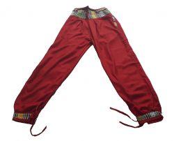 Calça Yoga - Rayon Vermelha 2 Tamanhos
