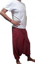 Calça Indiana Saruel Vermelha - Algodão & Brim