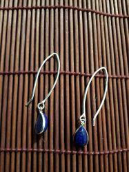 Brinco Lápis Lazuli