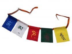 Bandeira tibetana de orações - Mini