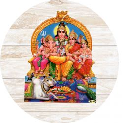 Gravura Adesiva Shiva Family