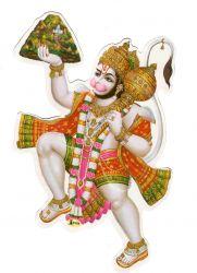 Gravura Adesiva Hanuman