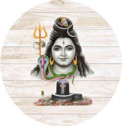 Gravura Adesiva Shiva & Ligam