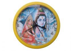 Relógio de Parede - Shiva & Parvati