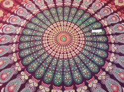 ESGOTADO! Colcha Mandala Colourful