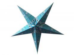 Estrela Decorativa/Luminária Azul