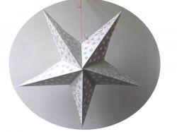 Estrela Decorativa/Luminária Branca