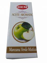 Óleo Aromatizador Green Apple. 10 ML