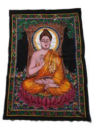 Pano Decorativo Meditating Buda