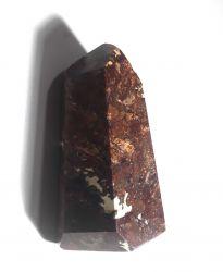 Ponta Cristal Calcedônia. 6,5cm